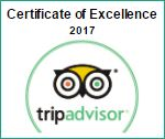 Winner: Certificate of Excellence 2017 | Torre del Tartufo Cooking Vacations Tuscany