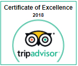 Winner: Certificate of Excellence 2018 | Casa Ombuto - Cooking Vacations Tuscany