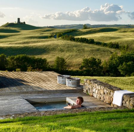 Bellorcia hot-tub with spectacular view