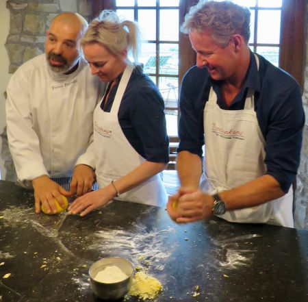 Have fun and learn to cook at Torre del Tartufo