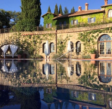 Torre del Tartufo SPA and pool in Tuscany