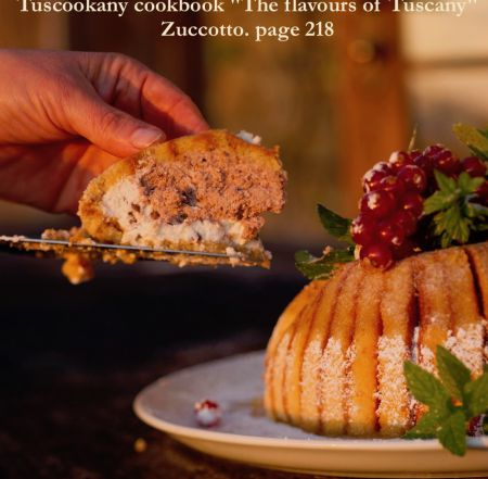 Tuscookany cookbook The flavours of Tuscany Zuccotto