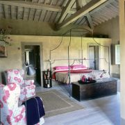 Bellorcia bedroom Tuscookany cooking vacations in Tuscany