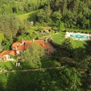 Casa Ombuto Tuscookany cooking classes in Tuscany from the air