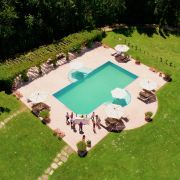Casa Ombuto solar heated swimming pool in Tuscany