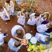 Have and learn to make Pizza at Torre del Tartufo