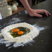 Learn how to make Pizza at Tuscookany cooking school in Tuscany