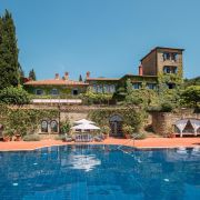 Torre del Tartufo pool and villa
