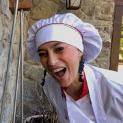 Tuscookany chef Alice Italian cookery course at Casa Ombuto