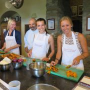 cooking lessons in Tuscany with yoga and fitness