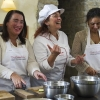 Chef Paola and here students
