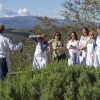Tuscookany students Tuscan wine between the cooking classes