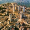 Visit San Gimignano on your cooking vacation Italy