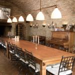 Casa Ombuto Cantina dinning room Tuscookany cooking school in Tuscany