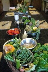 Mediterranean cooking course in Italy at Casa Ombuto