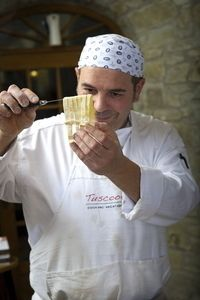 Tuscookany chef Franco cooking instructor in Torre del Tartufo