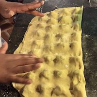 Learn how to make Vegan and Vegetarian pasta at Tuscookany cooking classes in Tuscany