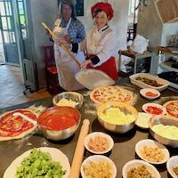 Learn to make Pizza at Bellorcia with chef Laura