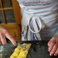 Learn to make ravioli at Tuscookany cooking classes in Italy