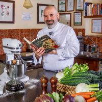 Tuscookany chef Franco at Torre del Tartufo
