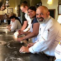 Tuscookany chef Franco at Torre del Tartufo cooking classes in Tuscany