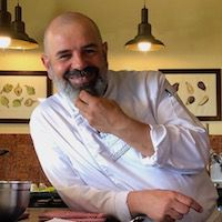 Tuscookany chef Franco cooking classes in Tuscany at Torre del Tartufo