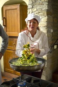 Tuscookany chef Paula at Casa Ombuto