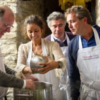 Tuscookany students at Torre del Tartufo cooking school in Italy