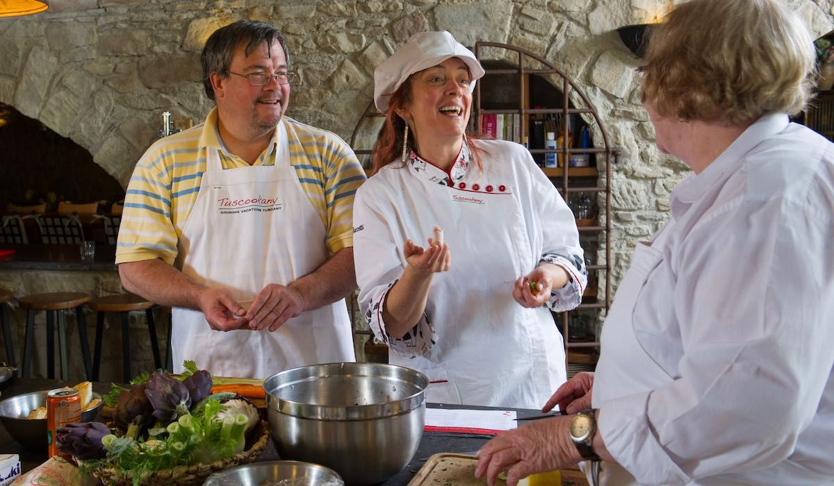 Cook classes in Italy with Paola from Tuscookany