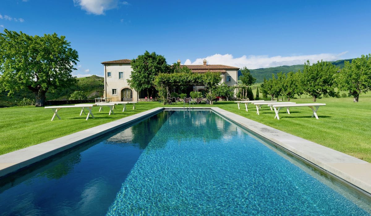 Cooking school in Tuscany, Bellorcia with amazing pool