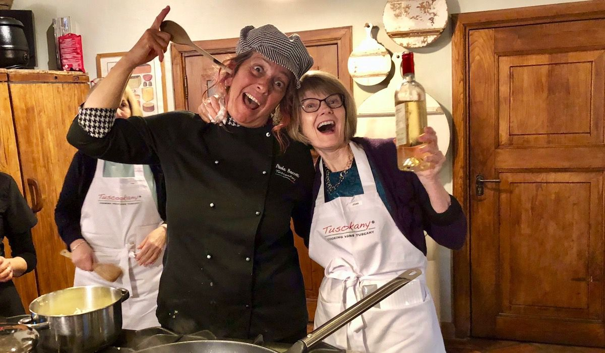 Have fun and learn to cook with Tuscookany chef Paola at Casa Ombuto cooking classes