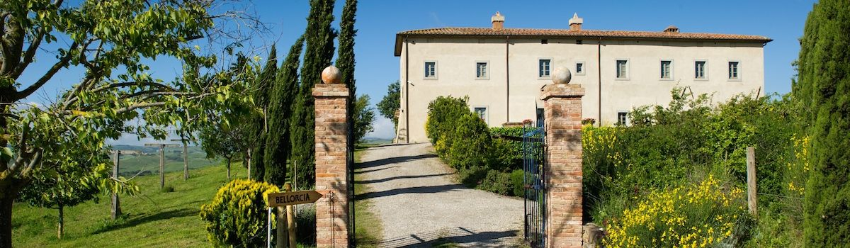 Tuscookany, Bellorcia cooking school in Tuscany entrance