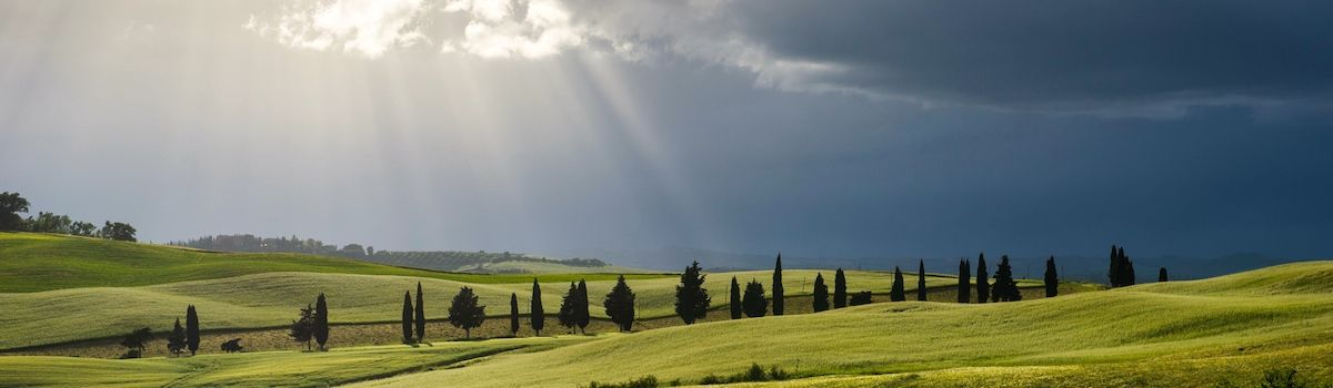 Tuscookany, Bellorcia view from your cooking school in Tuscany