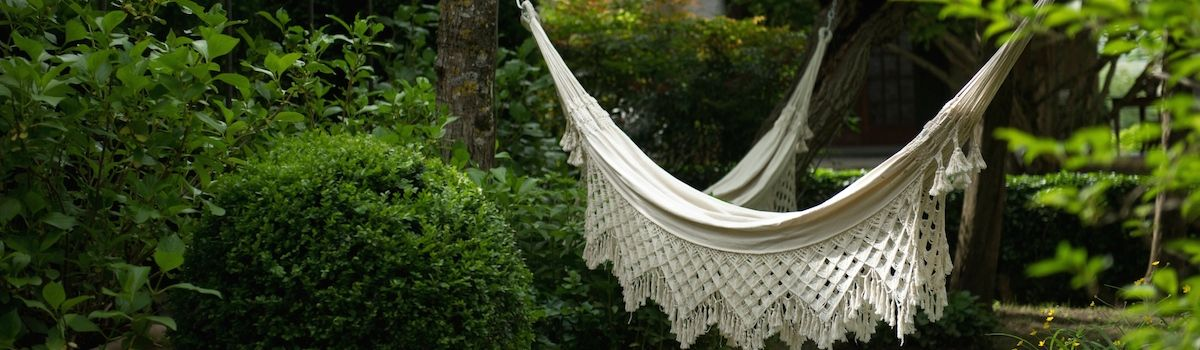 Tuscookany Casa Ombuto hammocks on your cooking vacation in Tuscany