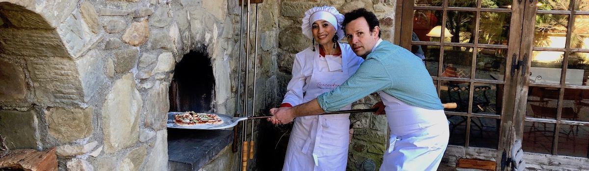 Tuscookany chef Alice at Casa Ombuto cooking school in Italy