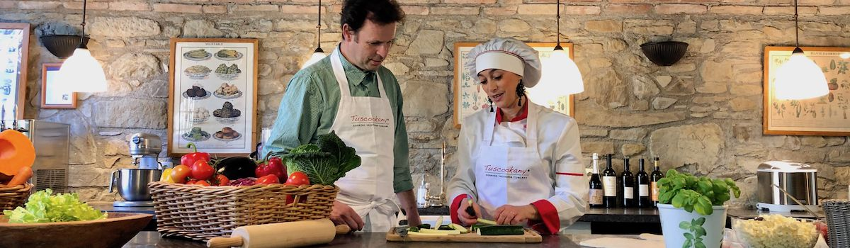 Tuscookany chef Alice at Casa Ombuto cooking school in Italy Mediterranean cooking course