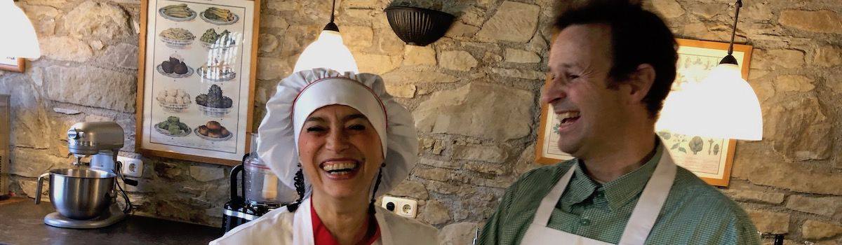 Tuscookany chef Alice at Mediterranean cooking classes in Italy