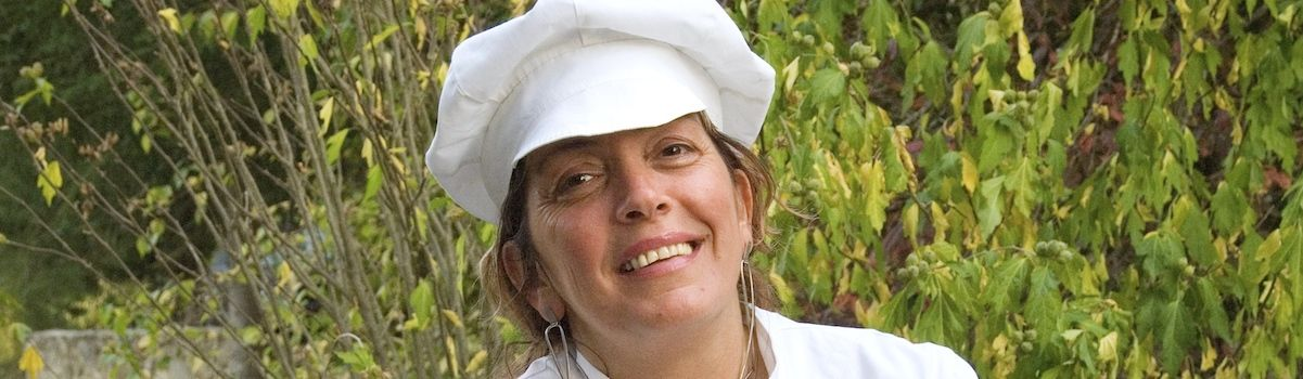 Tuscookany chef at the Casa Ombuto cooking school in Tuscany