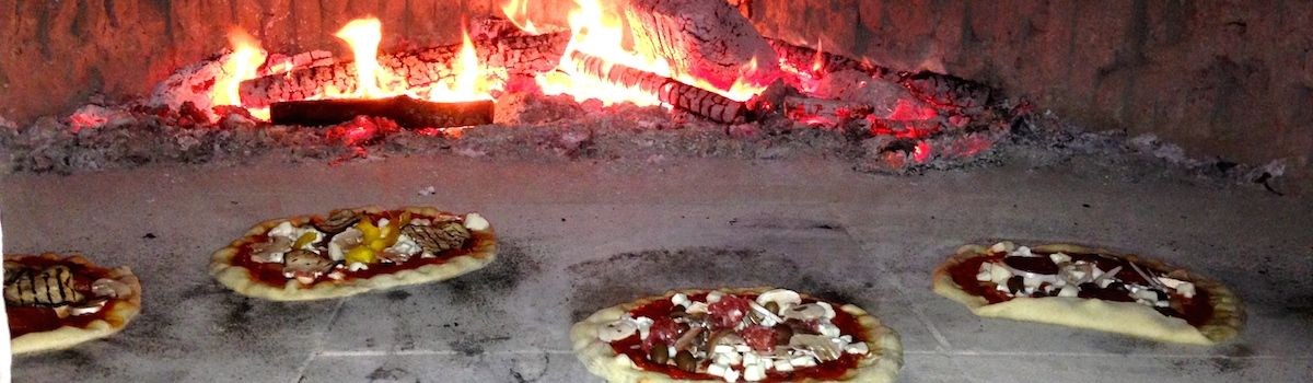 Tuscookany learn to make Pizza at our old wood burning Pizza ovens