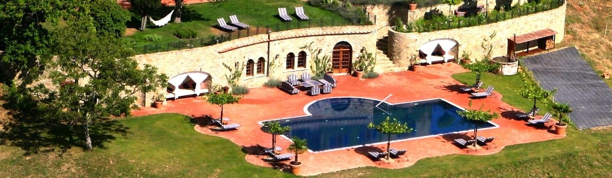 Tuscookany villa Torre del Tartufo pool and spa