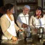 Have fun and learn to cook with chef Franco at Torre del Tartufo