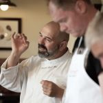 Tuscookany chef Franco at Torre del Tartufo cooking lessons