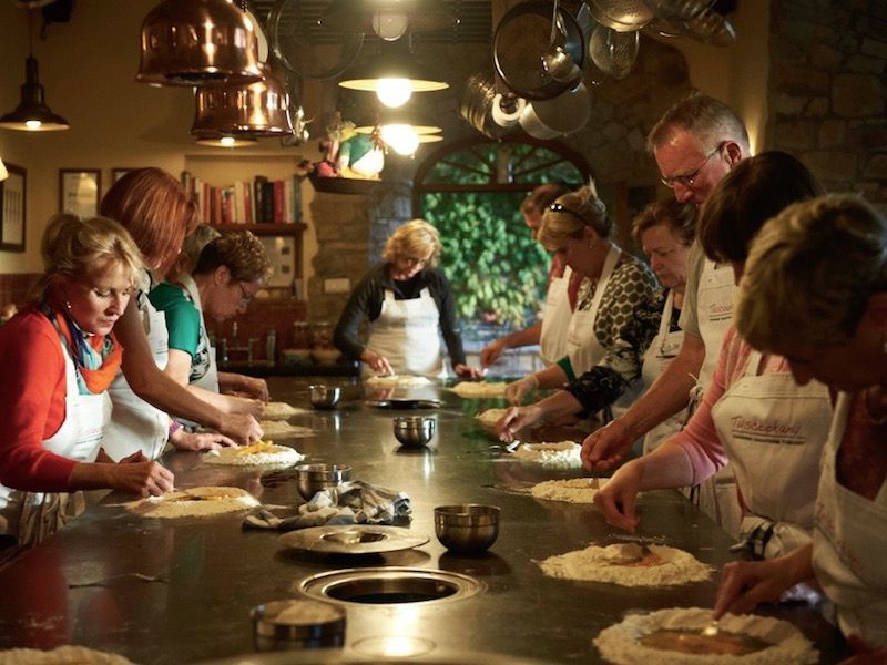 Find out more about Pasta at the Tuscookany cooking school in Tuscany