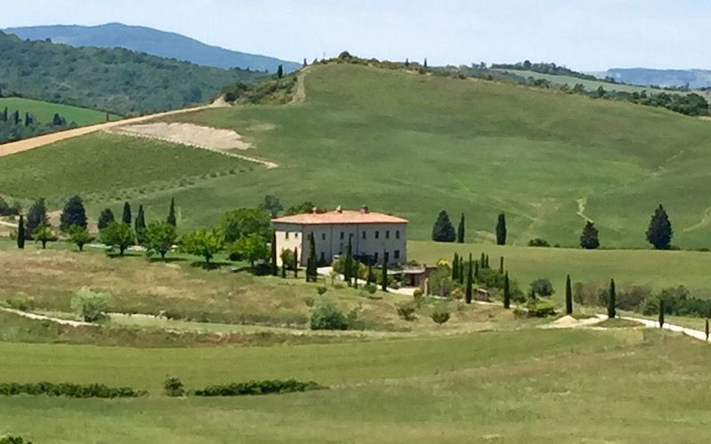 Tuscookany chose Val d'Orcia for the location of Bellorcia