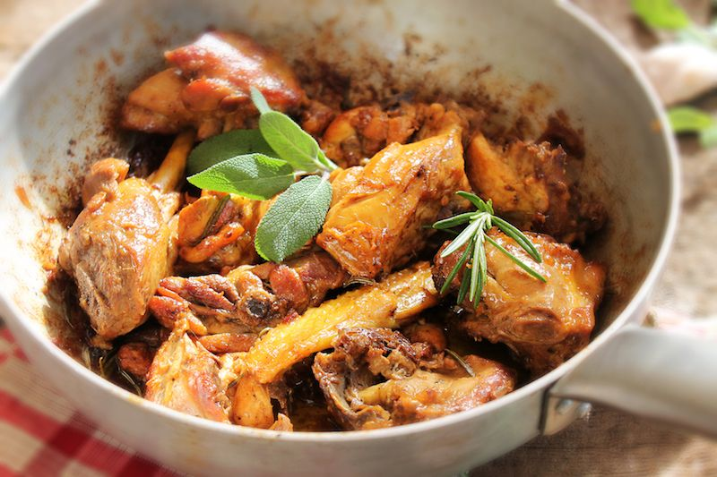 Pollo alla Cacciatora - the best chicken dish in the world!