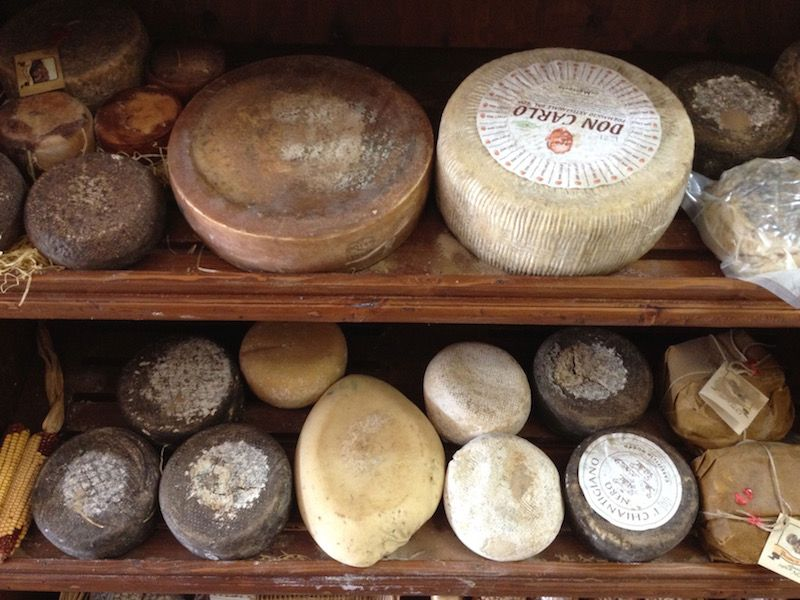 Did you know this about Tuscan pecorino cheese?