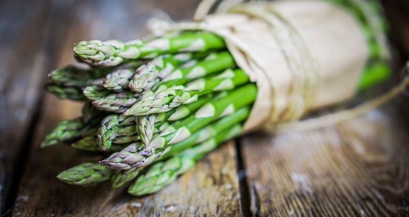 Asparagus: Then we know that Spring has arrived in Tuscany!
