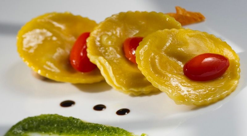 Pasta was invented by Italians and has become symbolic for their kitchen