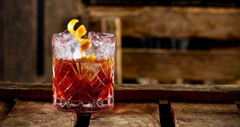 Try the famous Tuscan Negroni but never drink more than two!