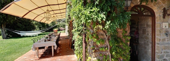 Torre del Tartufo Cantina where the cooking classes in Tuscany are given